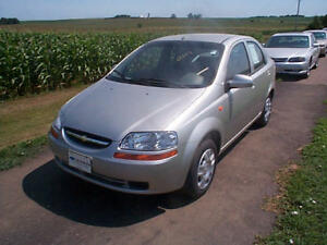 2004 Chevy Aveo Manual Transmission