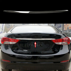 For Hyundai Elantra 11 15 Md Middle Rear Tailgate Lid Trim Molding Trunk Chrome