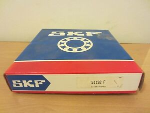Skf 51132 F Axial Single Direction Thrust Ball Bearing Cage Assembly Only