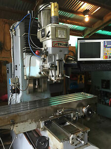 Atrump B6fc 3 axis Cnc Bed Mill New Centroid M400 Cnc Milling Machine