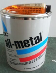 Usc 14060 All Metal Filler To Metal Auto Body Shop Paint 1 Quart With Hardener
