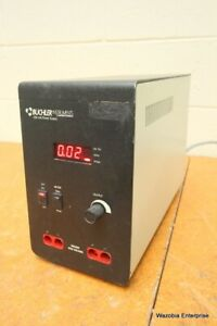 Buchler Instruments 250 Volts Electrophoresis Dc Power Supply Model 4333700
