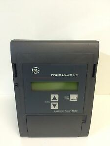 New Old Stock Ge General Electric Epm Electronic Power Leader Meter 120v 10a