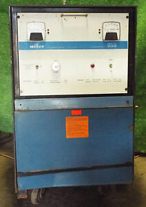 1 Used Miller Analog 300 Welder 208 230 460 Volt make Offer