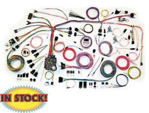 American Autowire 500661 1967 68 Chevy Camaro Classic Update Wiring Harness