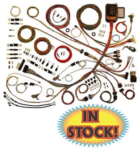 American Autowire 510303 1953 56 Ford F100 Pickup Classic Update Wiring Kit