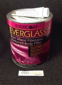 Evercoat Everglass Short Strand Reinforced Body Filler Gallon Fib 622