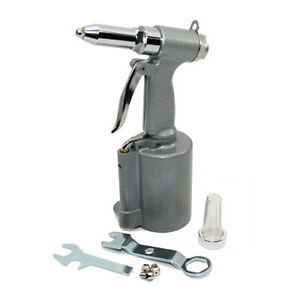 Heavy Duty Air Rivet Gun With Nose Pieces For 3 16 5 32 1 8 3 32 Rivets