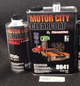 Transtar Motorcity Clearcoat 8041 With 8004 Or 8014 Activator Free Shipping