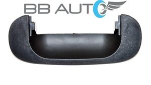 New 1994 2001 Dodge Ram 1500 2500 3500 Rear Tailgate Handle Bezel Black Textured