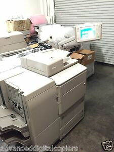 Canon Image Runner Advance 8105 Copier Scanner Printer With Low Meter