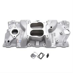 Edelbrock Performer Intake Manifold 2101 Chevy Sbc 283 327 350 Fits Stock Heads