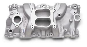 Edelbrock Performer Intake Manifold 2104 Chevy Sbc Fits 87 95 350 Tbi Heads