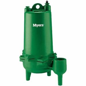 Myers Mw100 21 1 Hp Cast Iron Sewage Pump 2 non automatic 230v
