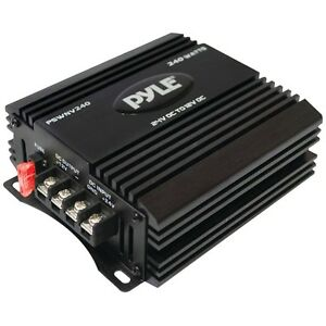 New Pyle Pswnv240 24 volt Dc To 12 volt Dc Power Step down Converter With Pmw Te