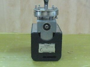 Gamma Vacuum Titan Variable Element Ion Pump A12768