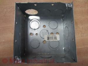 Steel City 52171 1 2 3 4 E 521711234e Electrical Box pack Of 3