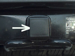 Car Wash Proof Guaranteed 1 1 4 Inch Black Trailer Hitch Receiver Cover Cap Plug