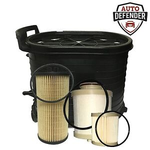 1 Air 1 Fuel 1 Oil Filter For 2003 2007 Ford 6 0 Powerstroke Turbo Diesel