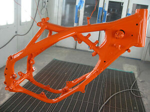 Ktm Orange Powder Coat Powder Coating Paint New 5 Lbs Free Shipping
