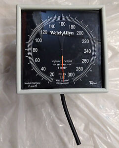 Welch Allyn Tycos Blood Pressure Gauge Cuff Sphygmomanometer