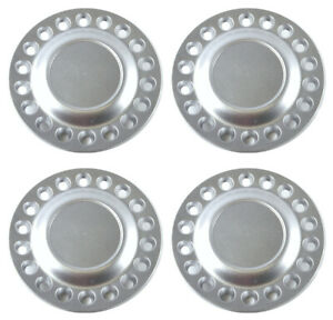 16 Wheel Hub Center Caps Set Silver For 1998 2005 Volkswagen Vw Beetle Bug