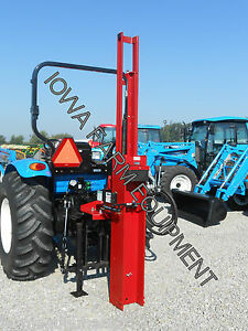 Post Driver Post Pounder Shaver Hd10 71 500lb s Force tractor 3pt Manual Tilt