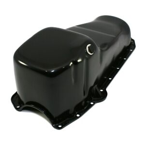 58 79 Sbc Chevy Black Oil Pan Stock Capacity 283 305 327 350 400 Small Block
