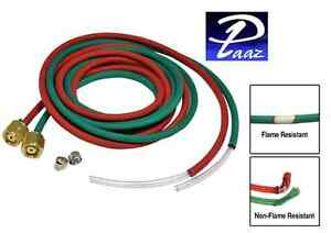 Primo Fire Resistant Twin Hose For Smith Little Torch 12 Ft X 1 8 Id