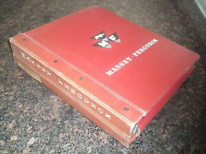 Massey Ferguson Mf 760 Combine Parts Book Catalog Manual