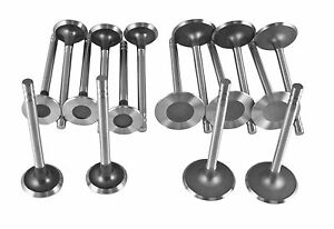 Sbc Engine Valves 8 Intake 1 94 And 8 Exhaust 1 50 New Full Set