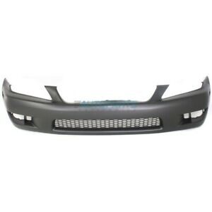 New Front Bumper Cover Primed Fits 2001 2005 Lexus Is300 Lx1000121