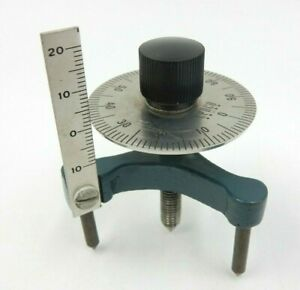 Vintage Cenco Metal Working Optics Depth Gauge