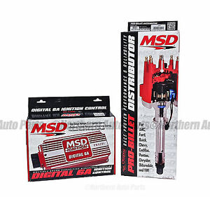 Msd 6201 85551 Combination 6a Box With Pro Billet Distributor