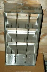 Cryogenic Cryo Storage Rack Stainless Steel 80 Freezer Tray Rack 22 X 11