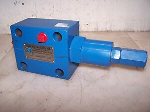 New Olmsted Products Sv020 03 Hydraulic Pressure Relief Valve