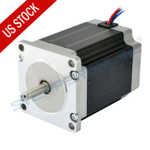 Us Ship Nema 23 Cnc Stepper Motor 1 9nm 269oz in Cnc Mill Lathe Router Robot