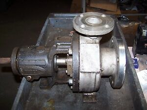 Durco Mark Ii 3x1 1 2 6 Stainless Steel D20 Centrifugal Pump 275 Psi