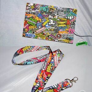 Stickerbomb Car Air Freshener Stickerbomb Lanyard Combo Pack Jdm Illest Drift