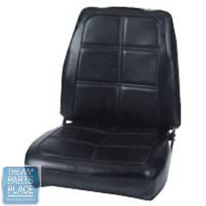 69 Charger Daytona R t 500 Se Black Front Buckets Seat Covers