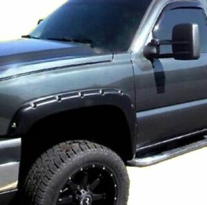 Fender Flares Rivet Style Smooth Finish Fits 99 06 Chevy Silverado