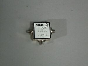 Macom T 1000 Sma Anzac Power Divider 10 1000 Mhz Free Shipping New