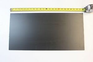 Black Abs Machinable Plastic Sheet 5 16 Thick X 12 X 36 Matt Finish