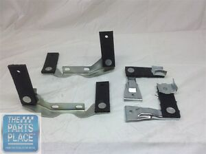 1968 72 Chevelle Oem Dual Exhaust Plated Hanger Set For Cars With Factory Tips