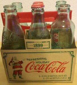 COCA COLA 6 PACK & CASE:CIRCA 1899 LIMITED EDITION 2007 & 1996 BOTTLES Collector