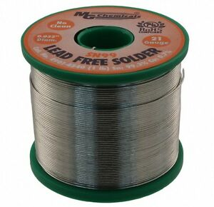Mg Chemicals 4901 454g Sn99 Lead Free Solder