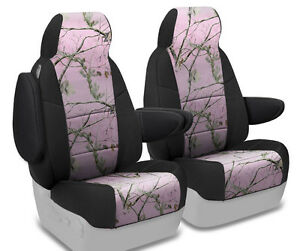 New Realtree Ap Pink Camo Camouflage Seat Covers With Black Sides 5102011 17