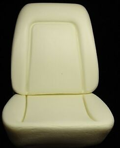 1969 Camaro Standard Interior Bucket Seat Foam Kit W Molded Wires Inside Pair