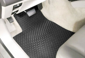 Hexomat All weather Heavy Duty Floor Mats Front Mats Custom Plymouth