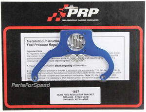 Prp 1667 Fuel Pressure Regulator Bracket Magnafuel Dominator Made In The Usa